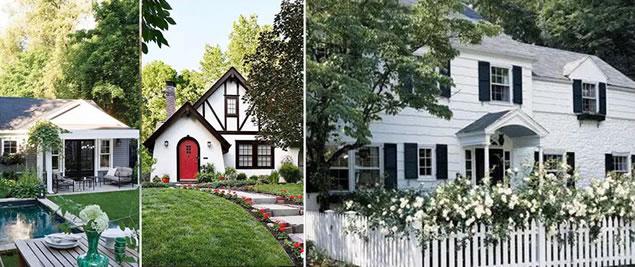 美式风格庭院景观设计