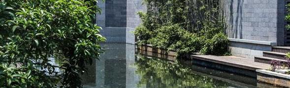 易兰德花园系统之庭院水系设计